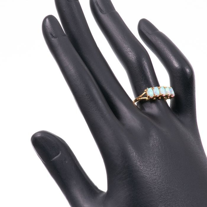 Opal Gilded Ring - Image 2 of 3