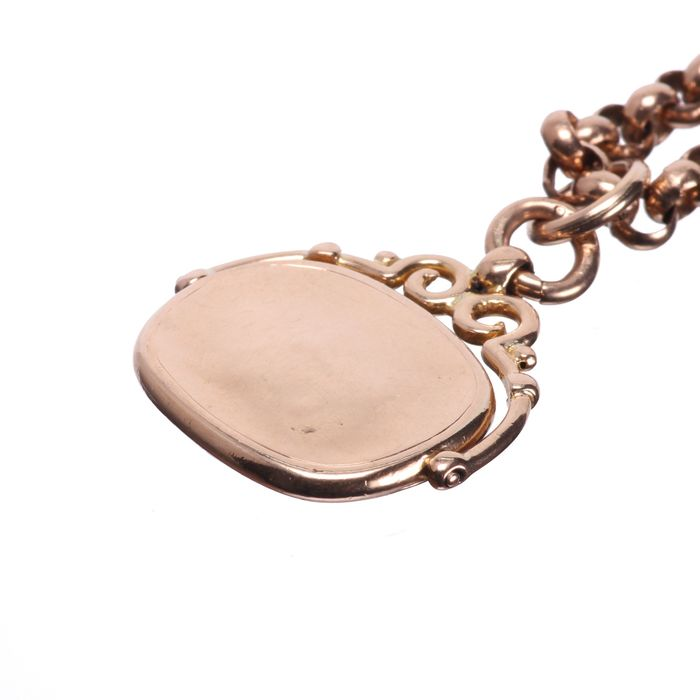 Victorian Gold Fob Necklace - Image 2 of 5