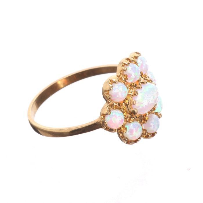 Opal Gilded Ring - Image 5 of 5
