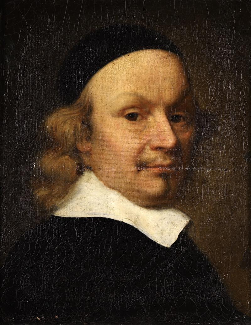 XVII Old Master Portrait - Cardinal