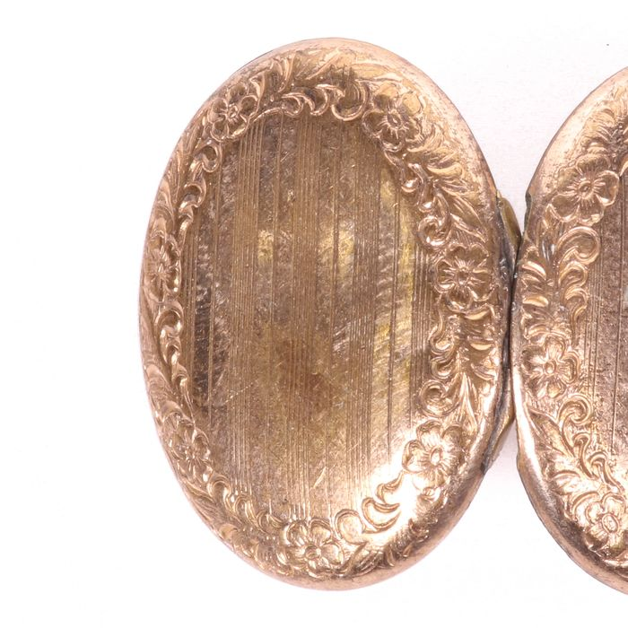 Victorian Pinchbeck Photograph Locket - Image 3 of 4