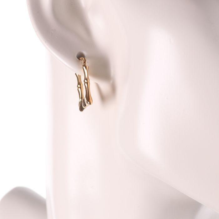 9ct Gold Italian Earrings - Image 2 of 3