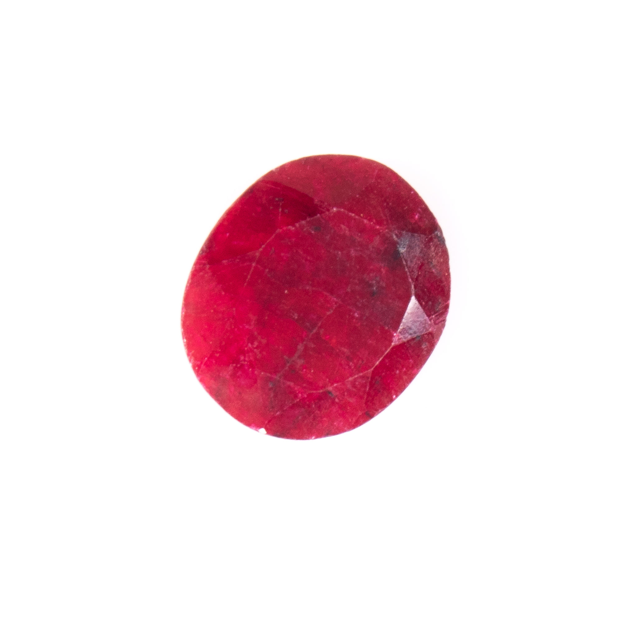 Natural Oval-cut Ruby Gemstone - Image 6 of 6