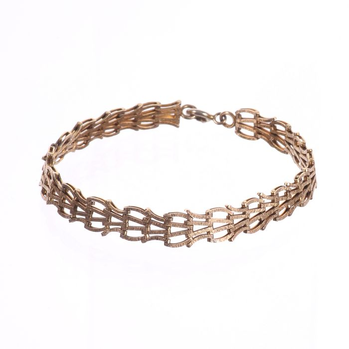 9ct Gold Bracelet - Image 4 of 6