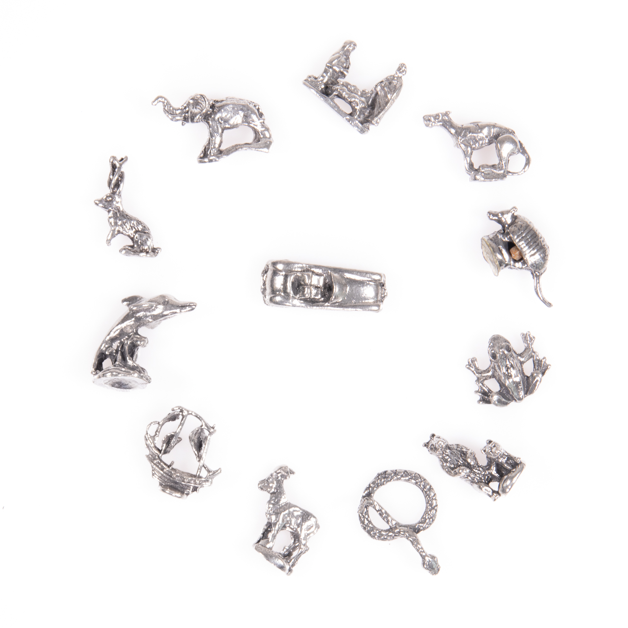 Selection of 12x Silver Novelty Charms - Image 4 of 6