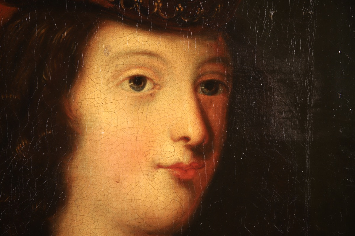 XVII French Old Master Portrait (ca 1660) - Image 10 of 11