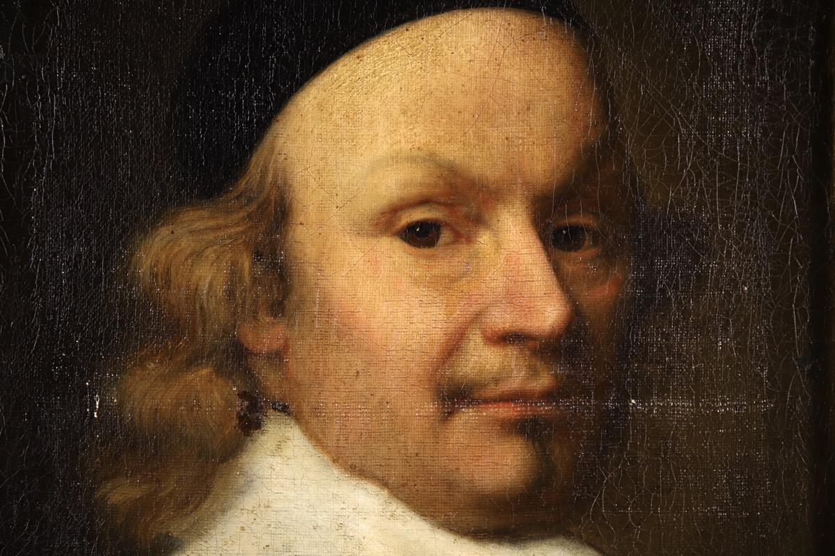 XVII Old Master Portrait - Cardinal - Image 4 of 12