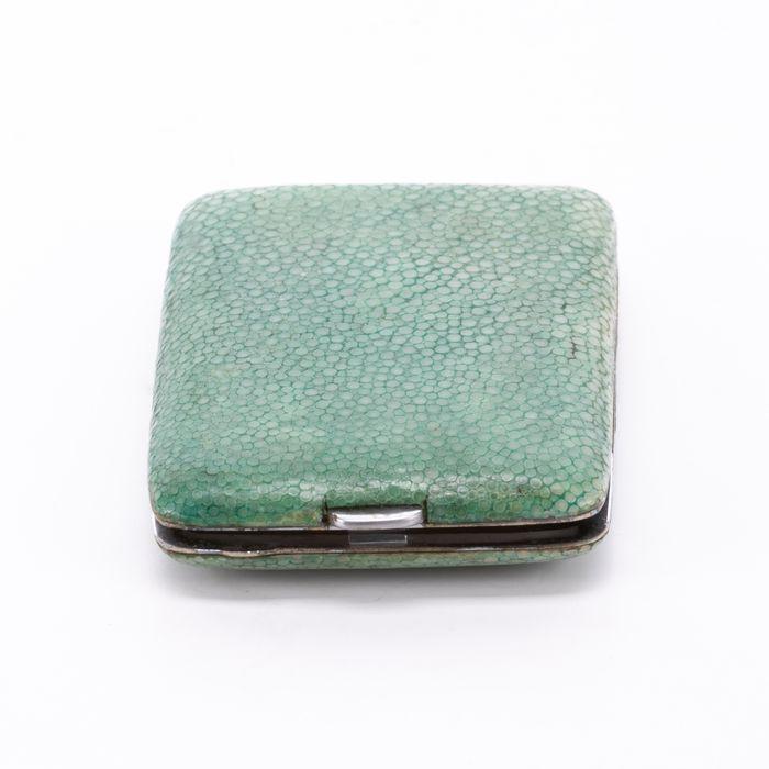 Edwardian Snakeskin Cigarette Case or Match Holder - Image 6 of 6