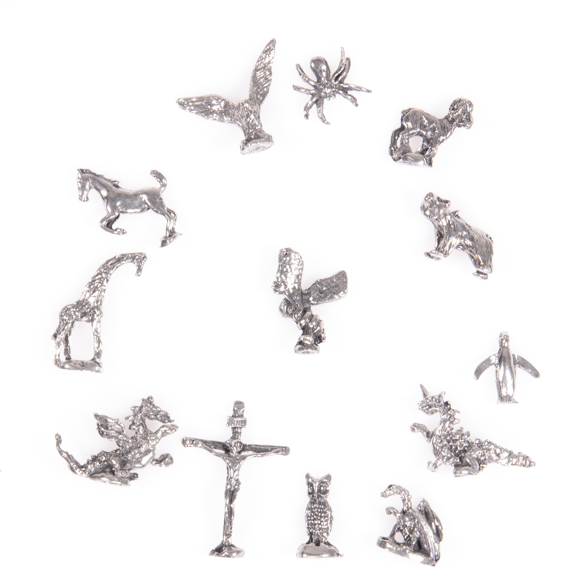Selection of 13x Silver Novelty Charms - Image 5 of 6