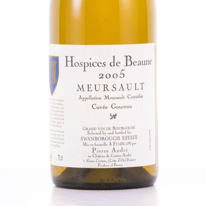 Hospices de Beaune 2005 Wine - Meursault - 1 Bottle (0.75L) - Image 4 of 5