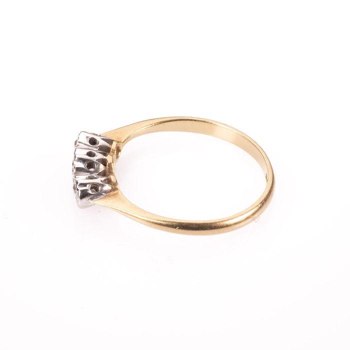 18ct Gold & Platinum Diamond Ring - Image 5 of 7