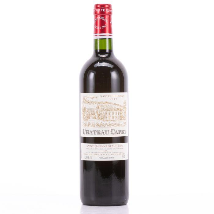 Chateau Capet 2012 Wine - Saint-Emilion - 1 Bottle (0.75L)