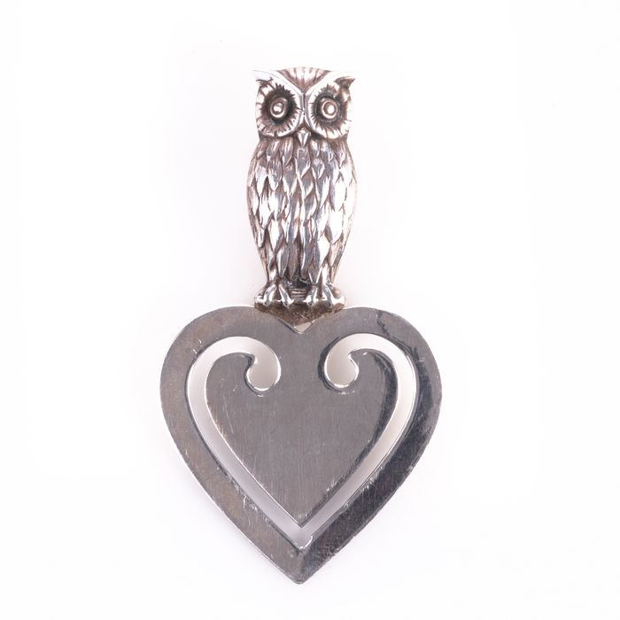 Silver Owl Page Marker