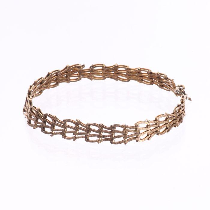 9ct Gold Bracelet - Image 5 of 6