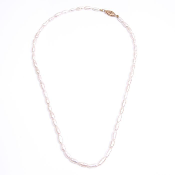 14ct Gold Baroque Pearl Necklace
