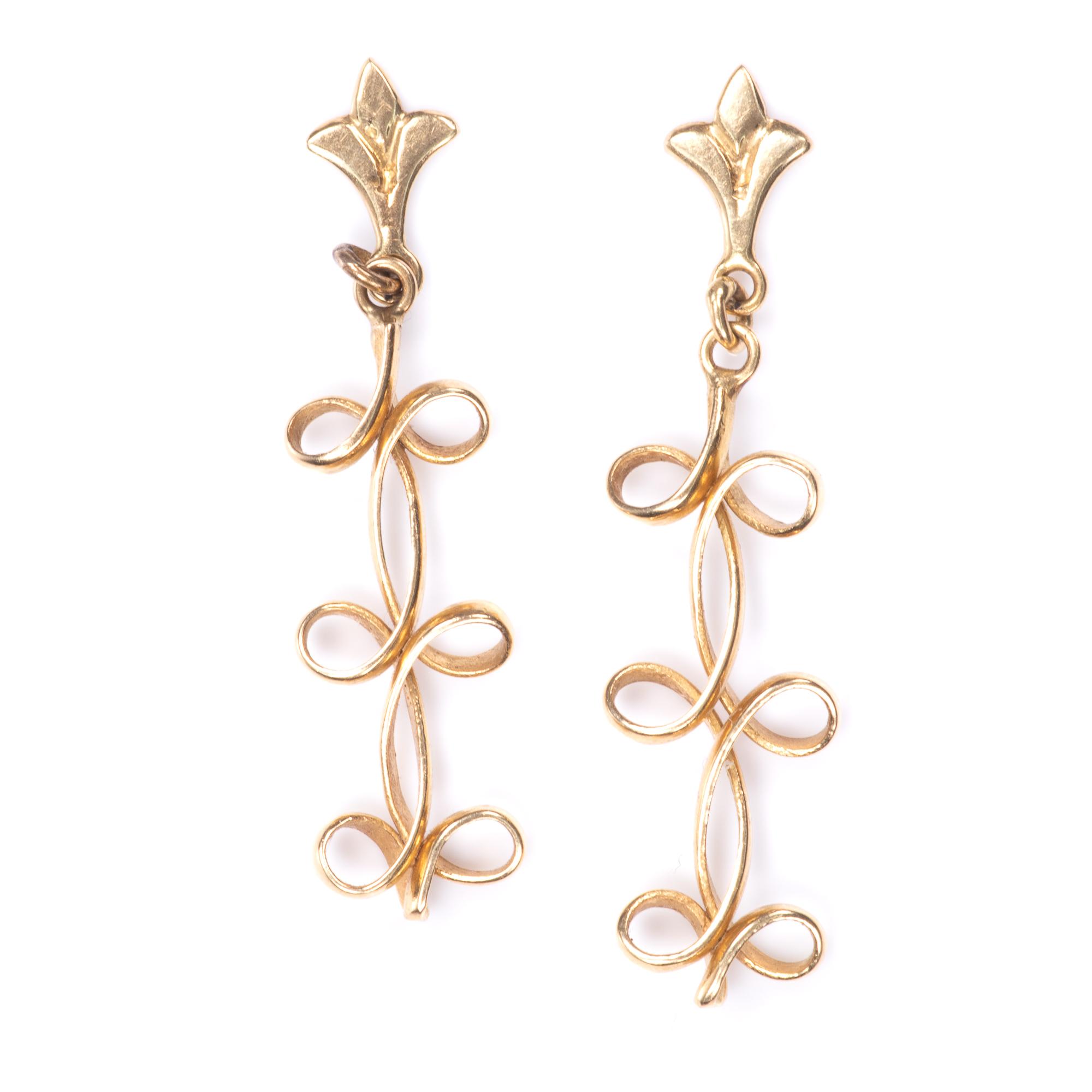 18ct Gold Earrings