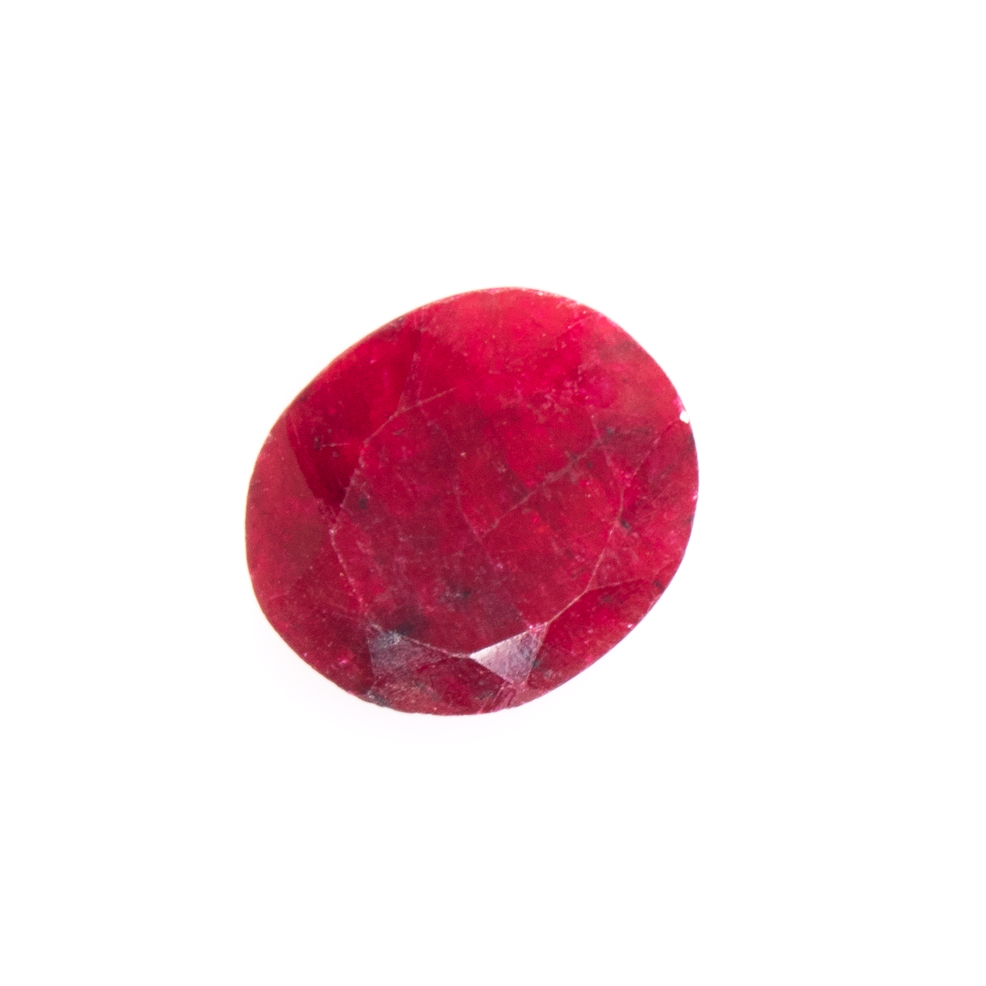 Natural Oval-cut Ruby Gemstone - Image 5 of 6