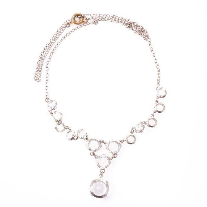 Paste Riviere Necklace