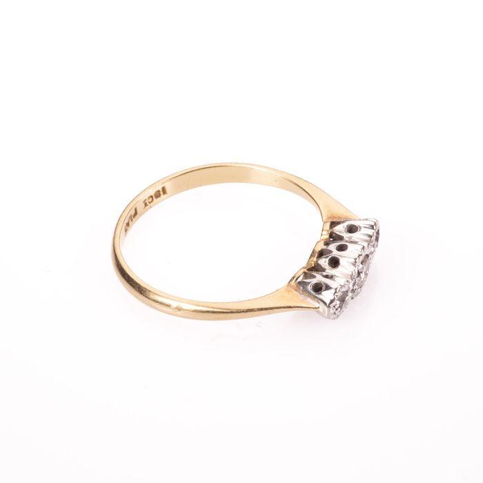 18ct Gold & Platinum Diamond Ring - Image 7 of 7