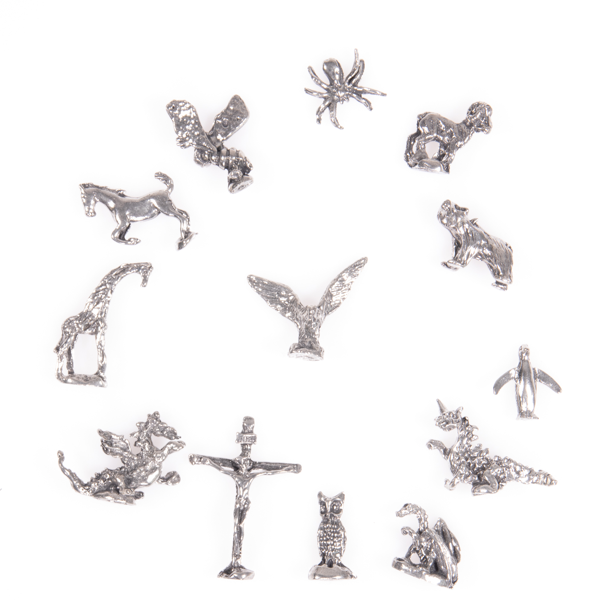 Selection of 13x Silver Novelty Charms - Image 4 of 6