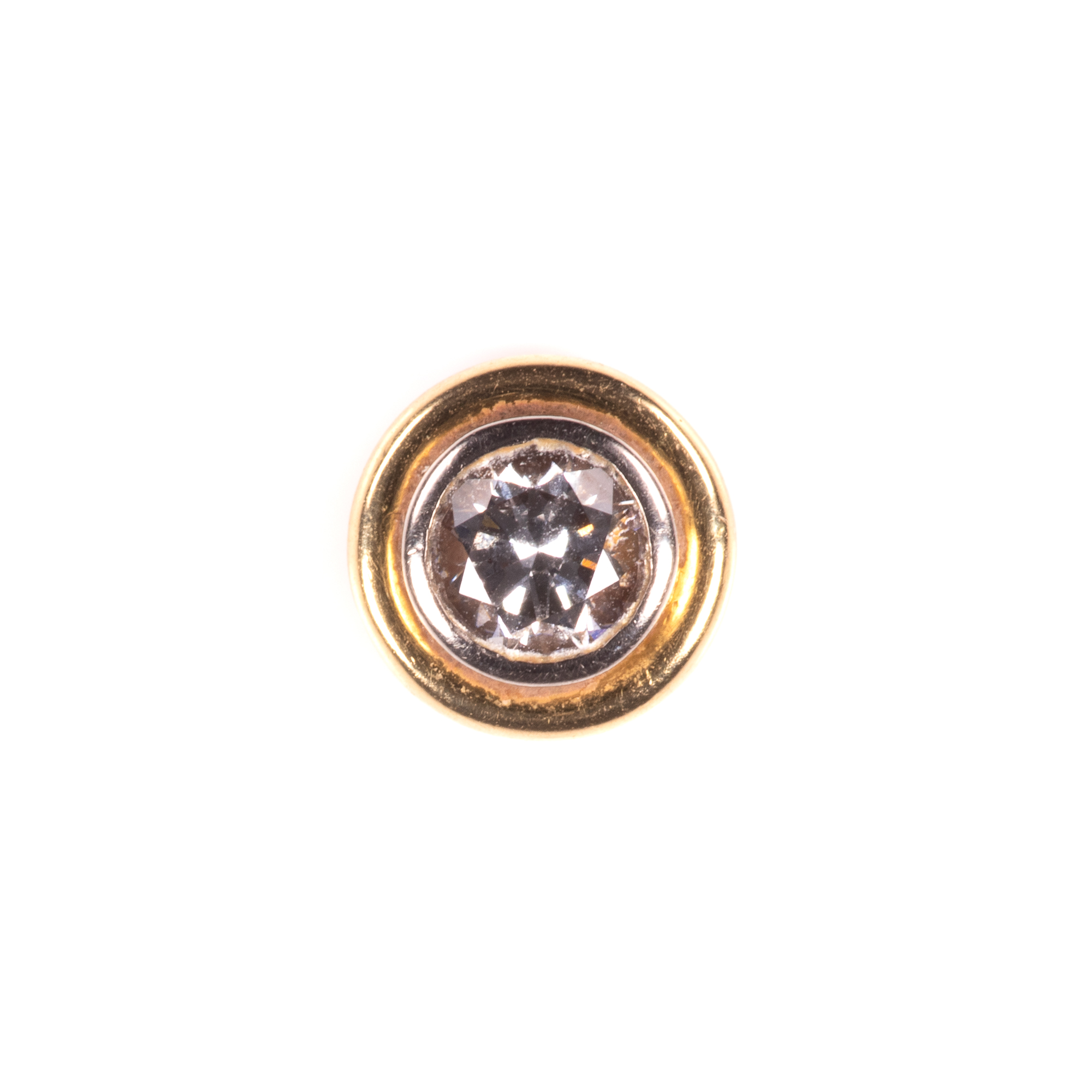 18ct Gold 1ct Diamond VVS1 Earrings - Image 3 of 7