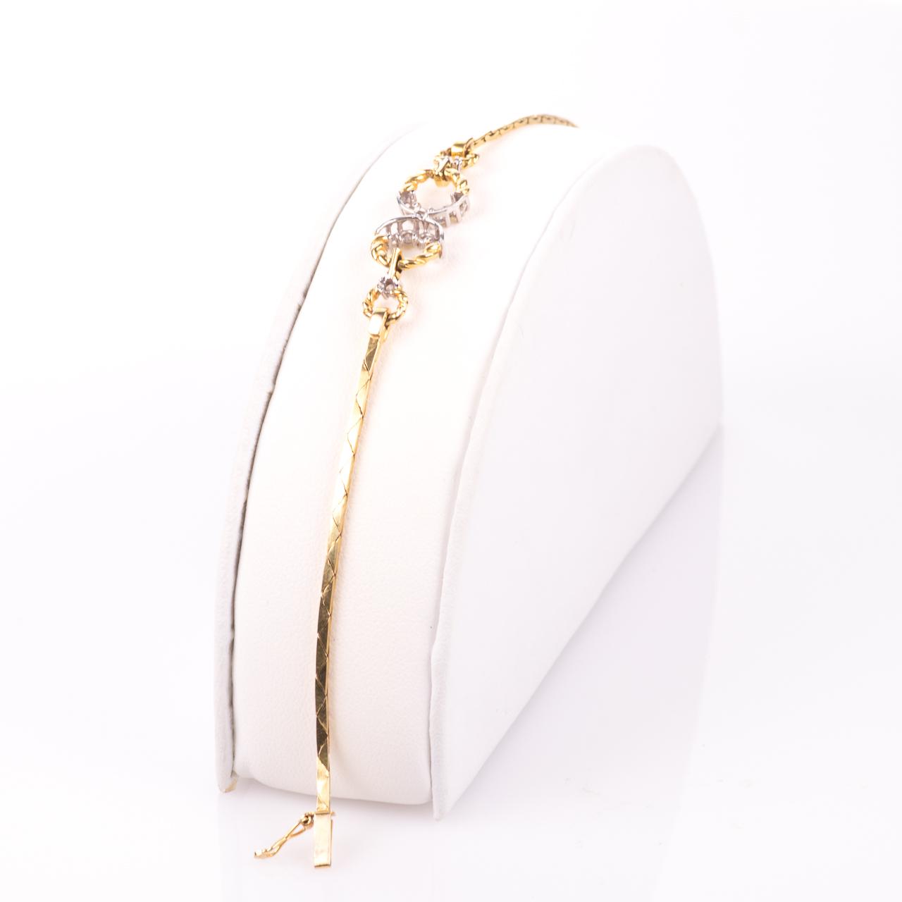 18ct Gold 0.30ct Diamond Bracelet - Image 5 of 6