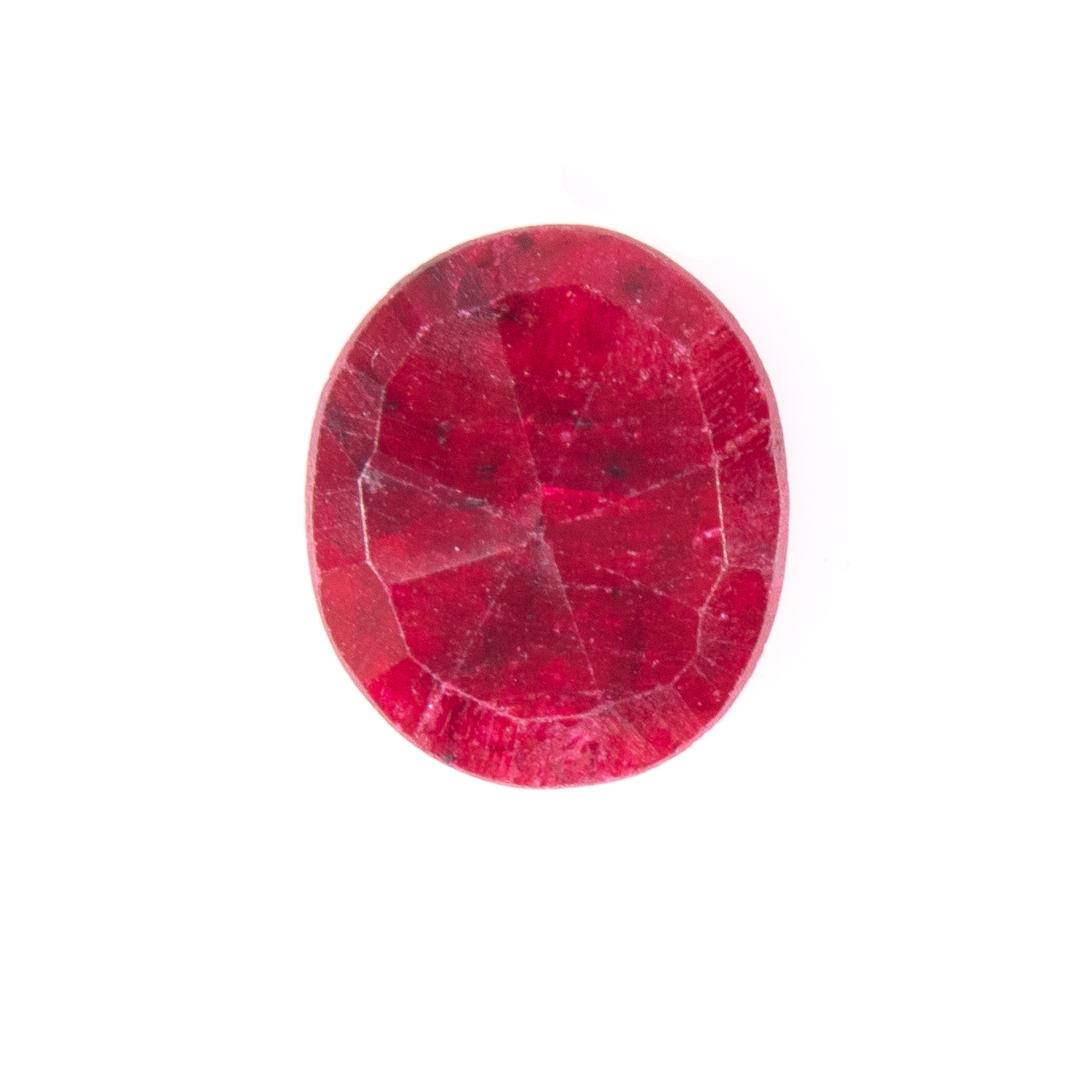 Natural Oval-cut Ruby Gemstone - Image 3 of 6