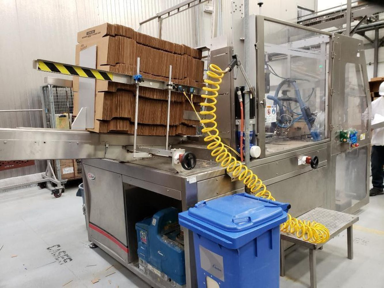 Conagra Multi-Location online auction - 6 locations of food manufacturing and packaging equipment