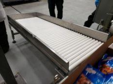 gravity reject conveyor