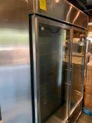 True 2-door glass cooler