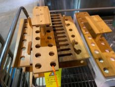 wood cutting boards and holders