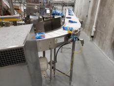 multi-conveyor belt conveyor with washdown motor