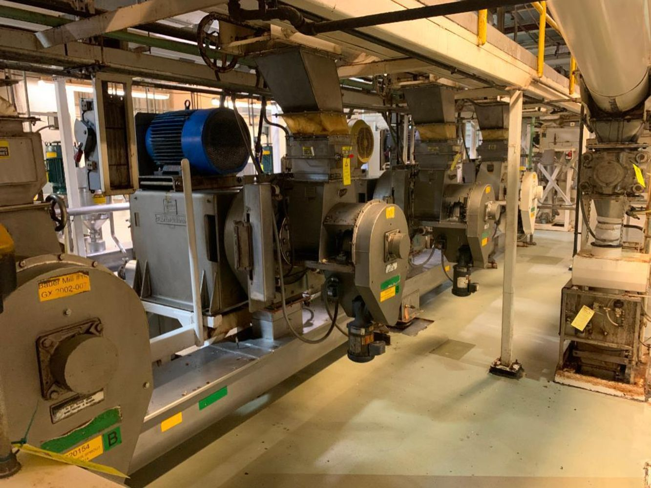 Day 1 - Complete Plant Closure Of Peanut Butter Plant - All processing equipment