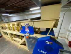 LMC vibratory nut scalping deck, 10 ft. x 5 ft., model 6010P
