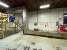 2009 Frazier and Son Whiz-Lifter stainless steel overlapping bucket elevator