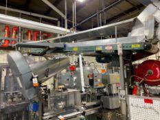 Hytrol mild steel conveyor, 16 ft. x 12 in.