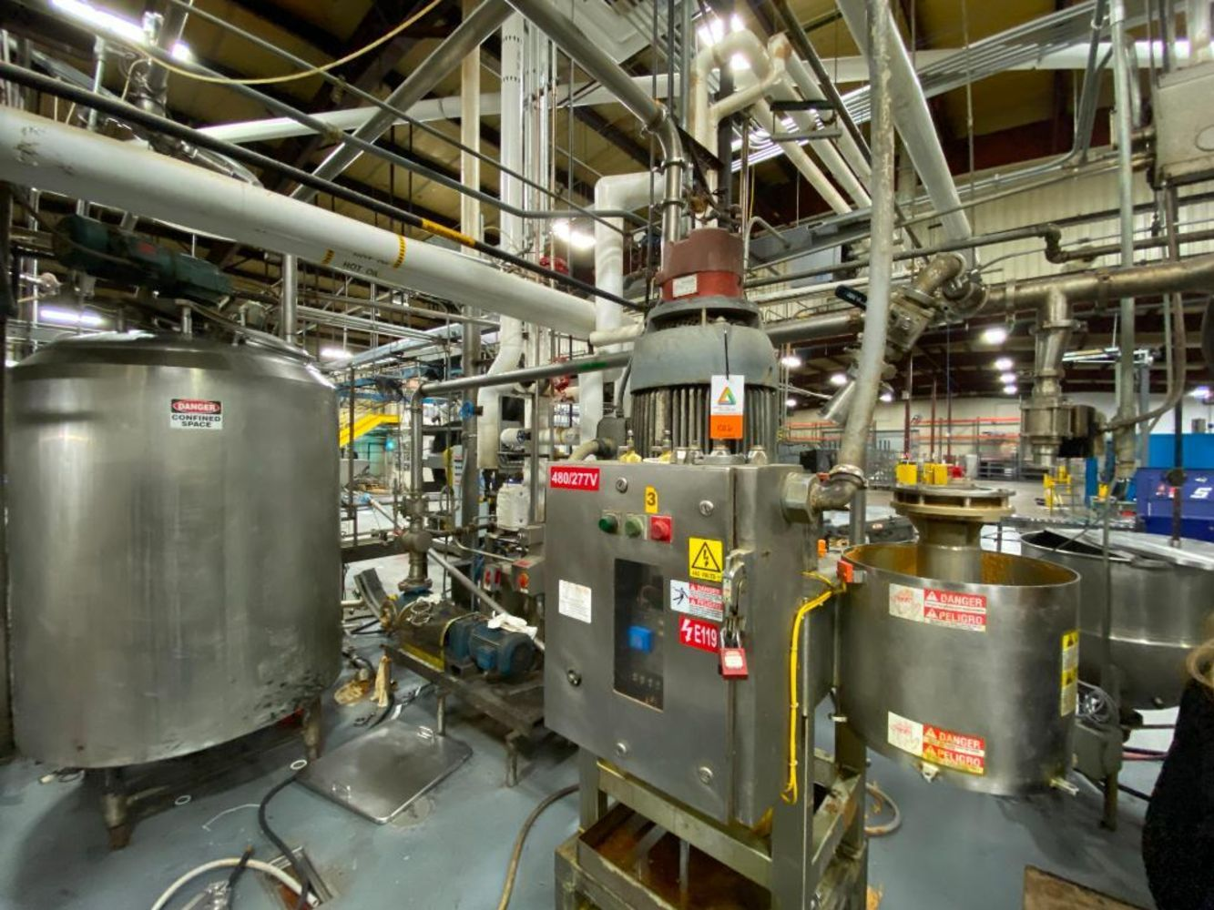 Peanut Butter Manufacturing and Packaging Equipment - Surplus of Golden Boy Nut Corporation