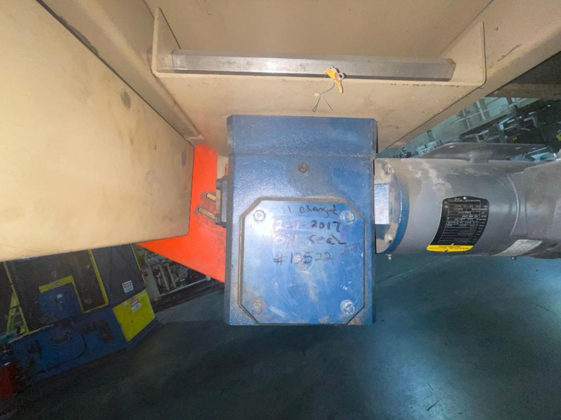 Mathews mild steel incline conveyor - Image 4 of 10