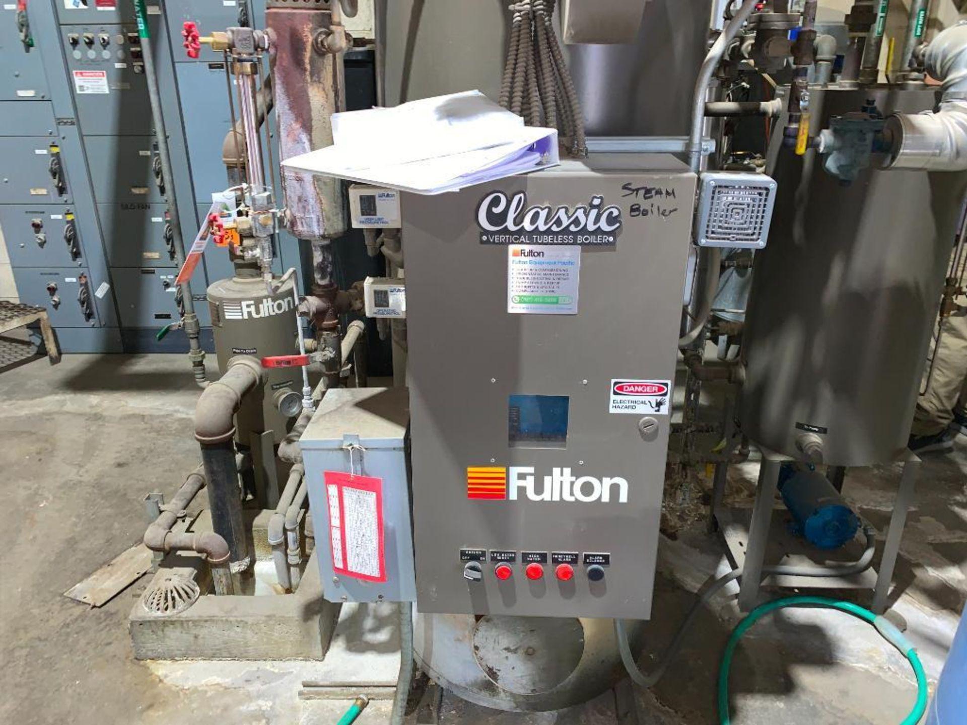 2014 Fulton steam boiler - Image 8 of 23