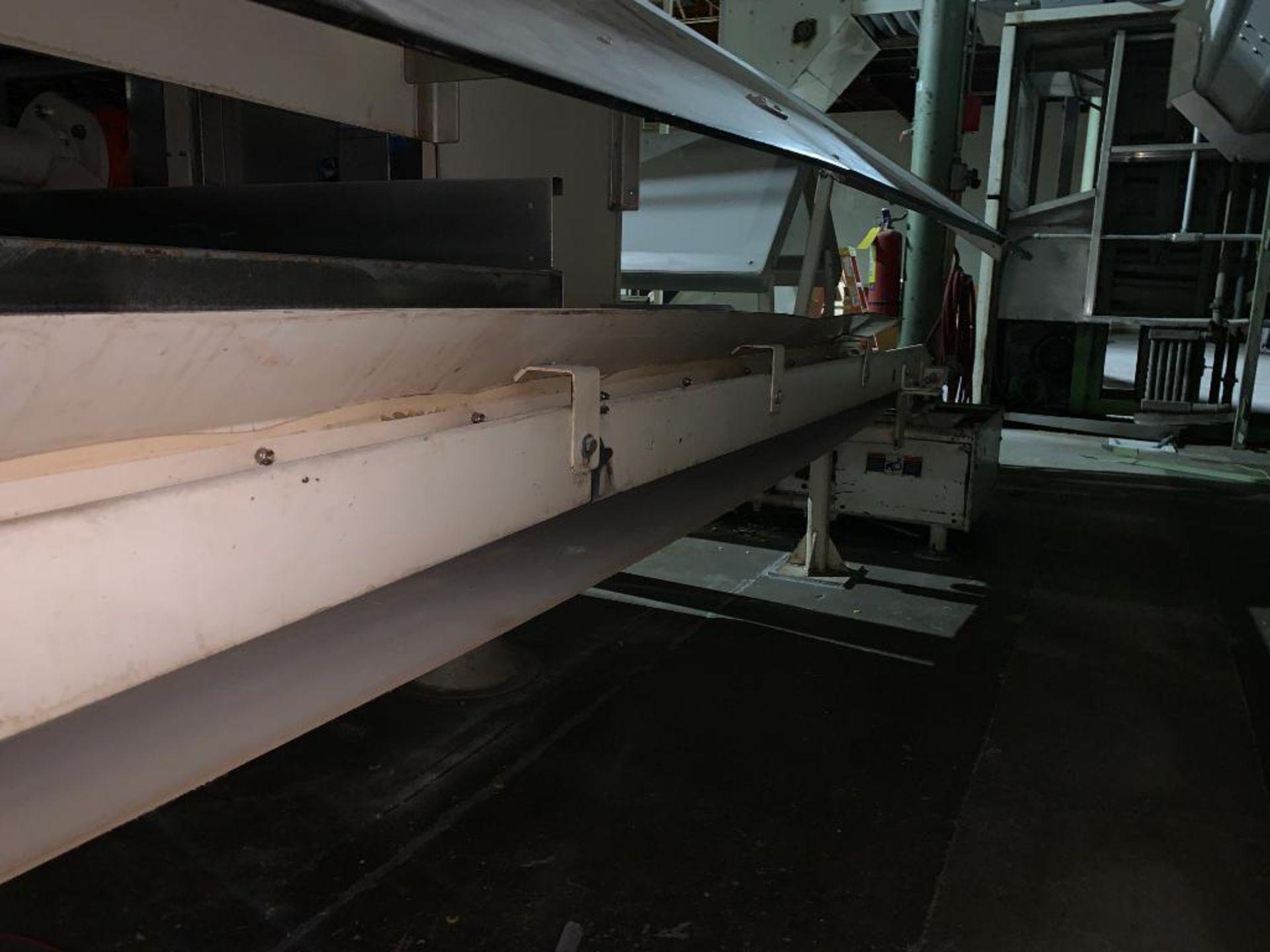 mild steel belt conveyor - Image 5 of 9