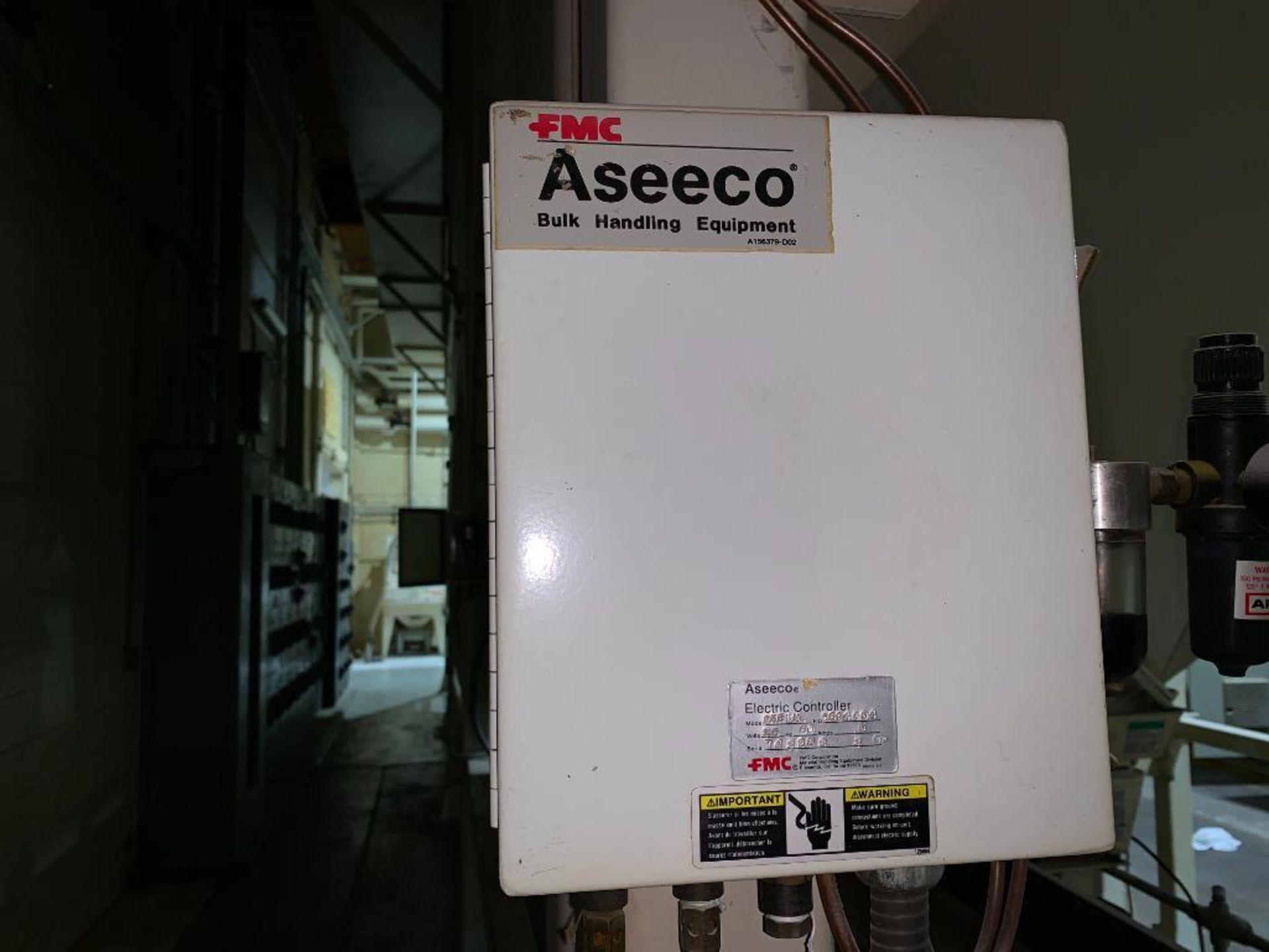 Aseeco mild steel cone bottom bulk storage bin - Image 25 of 27