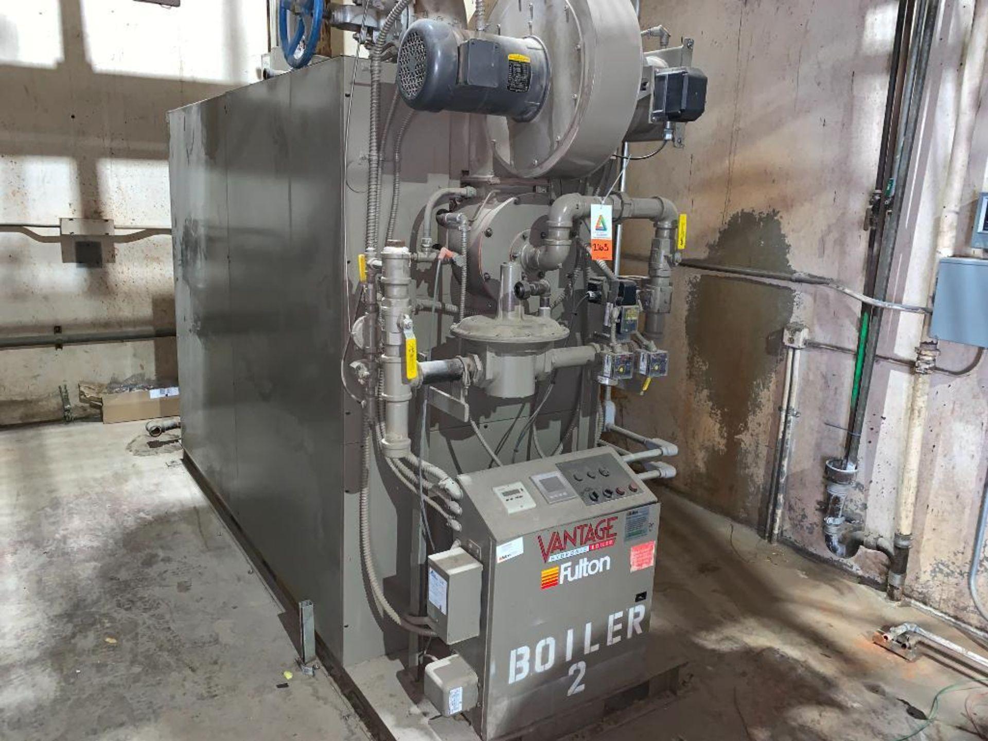 2010 Fulton fuel fired hot water boiler