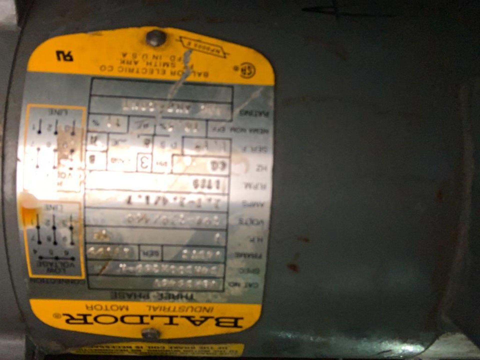 mild steel powered belt conveyor, decline - Image 8 of 14