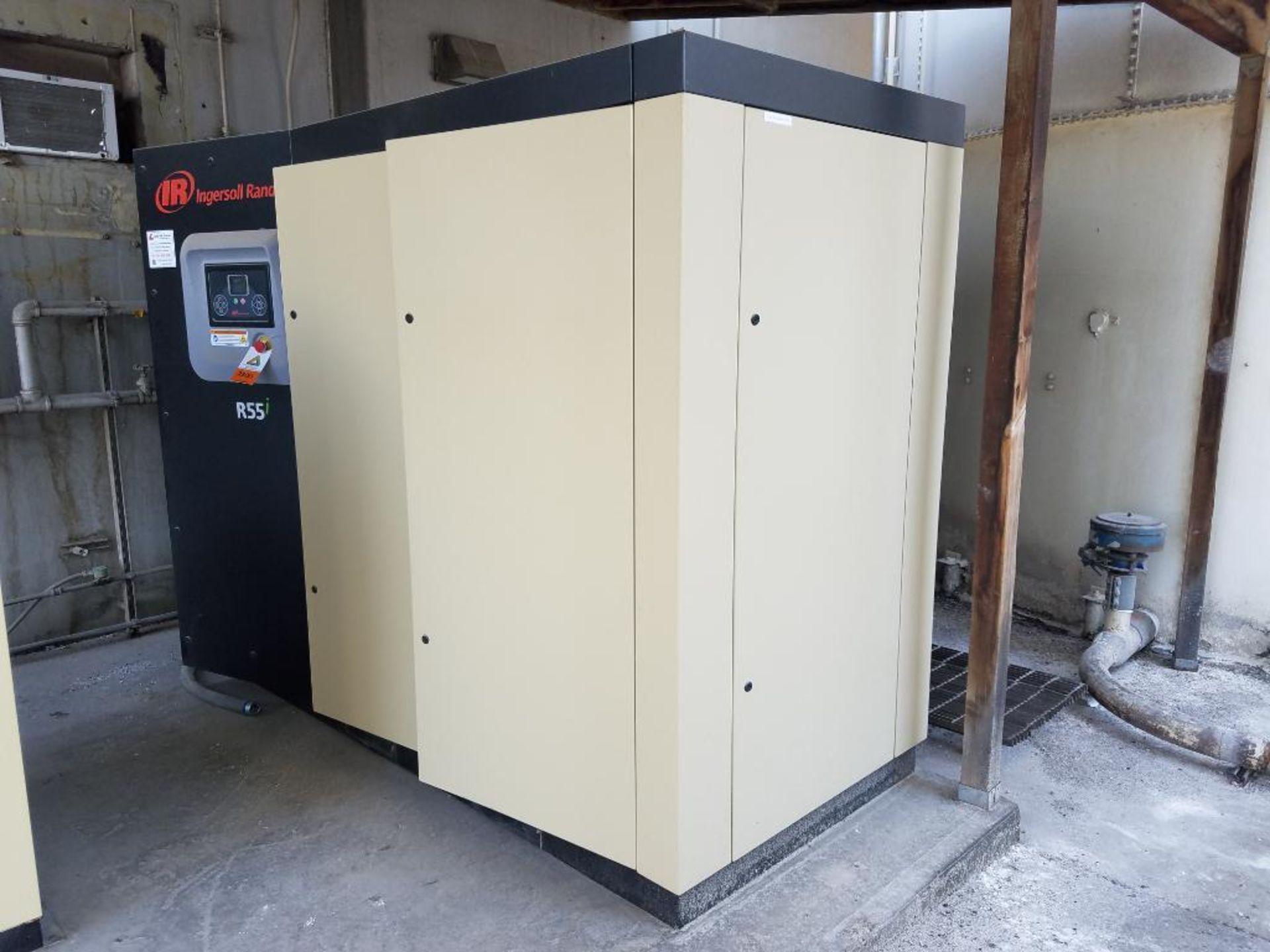 2018 Ingersoll Rand rotary screw air compressor