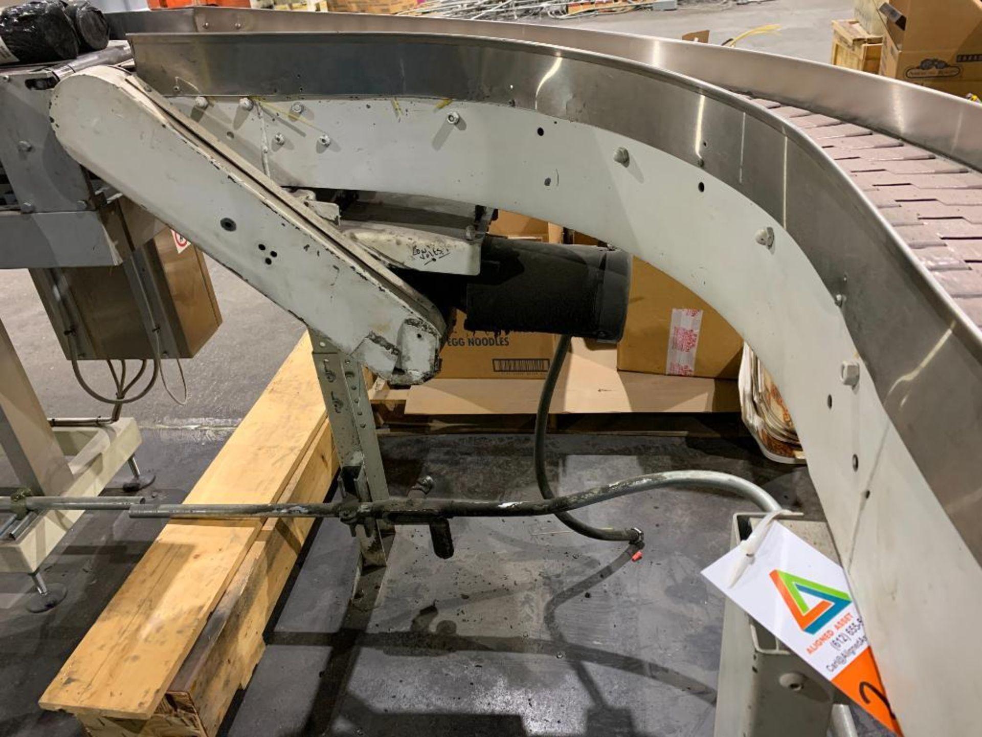 mild steel S-curve conveyor - Image 4 of 11