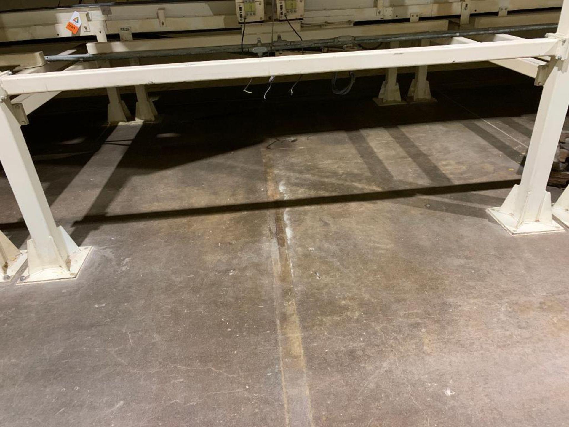 Aseeco mild steel cone bottom bulk storage bin - Image 3 of 27