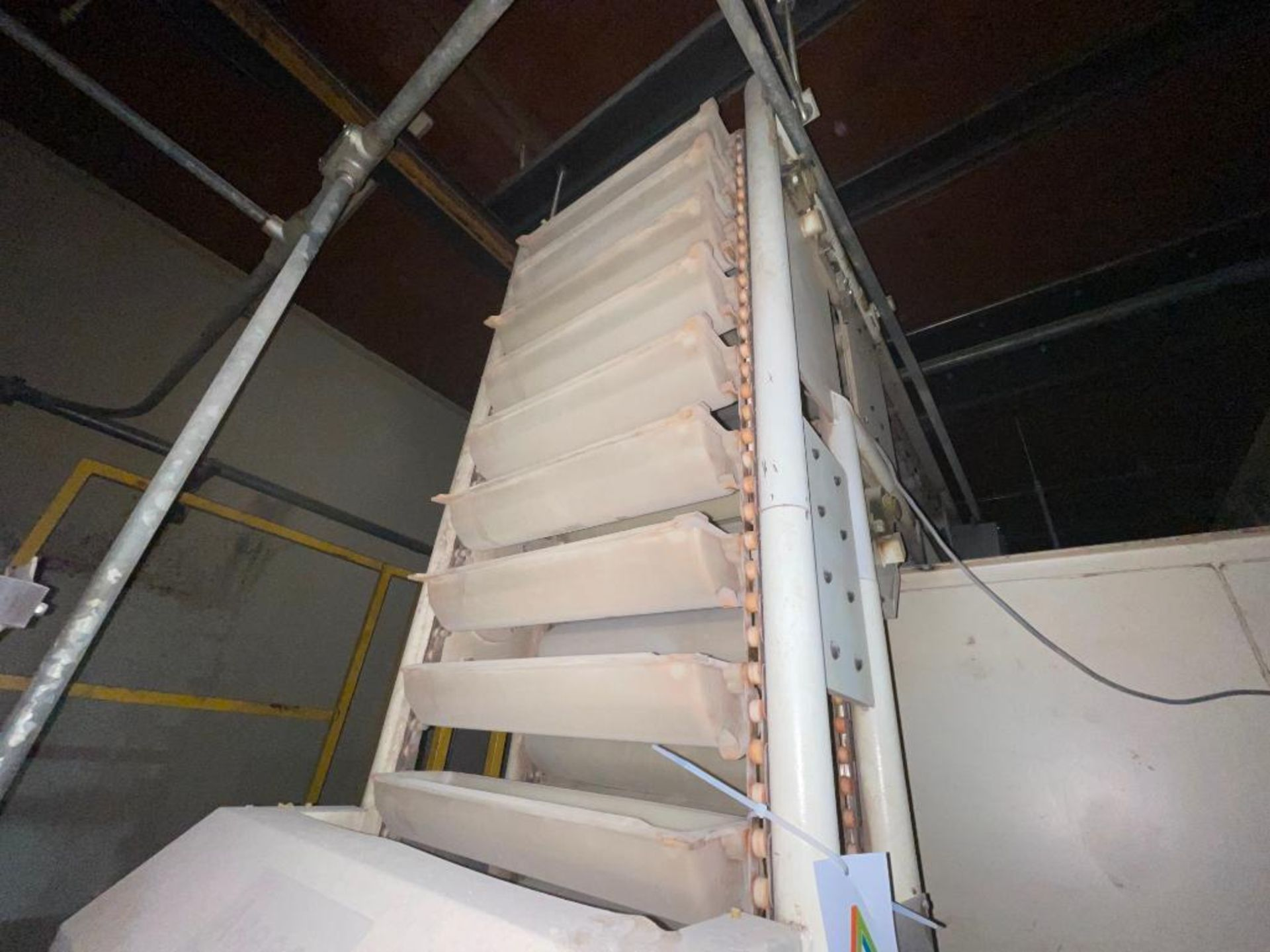 Aseeco horizontal overlapping bucket elevator - Image 4 of 10