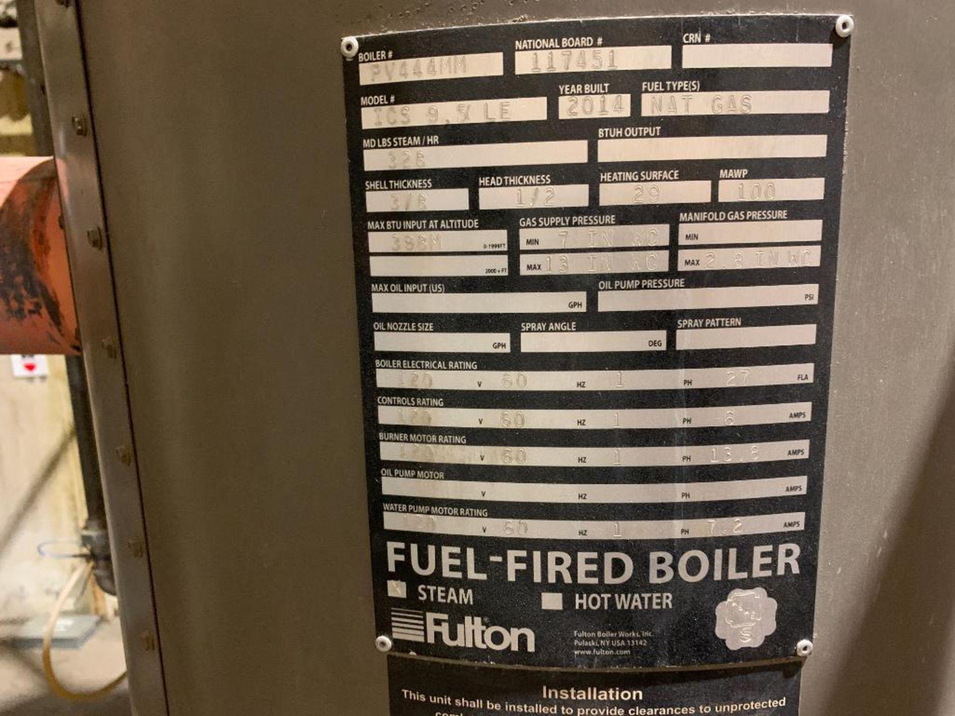 2014 Fulton steam boiler - Image 3 of 23