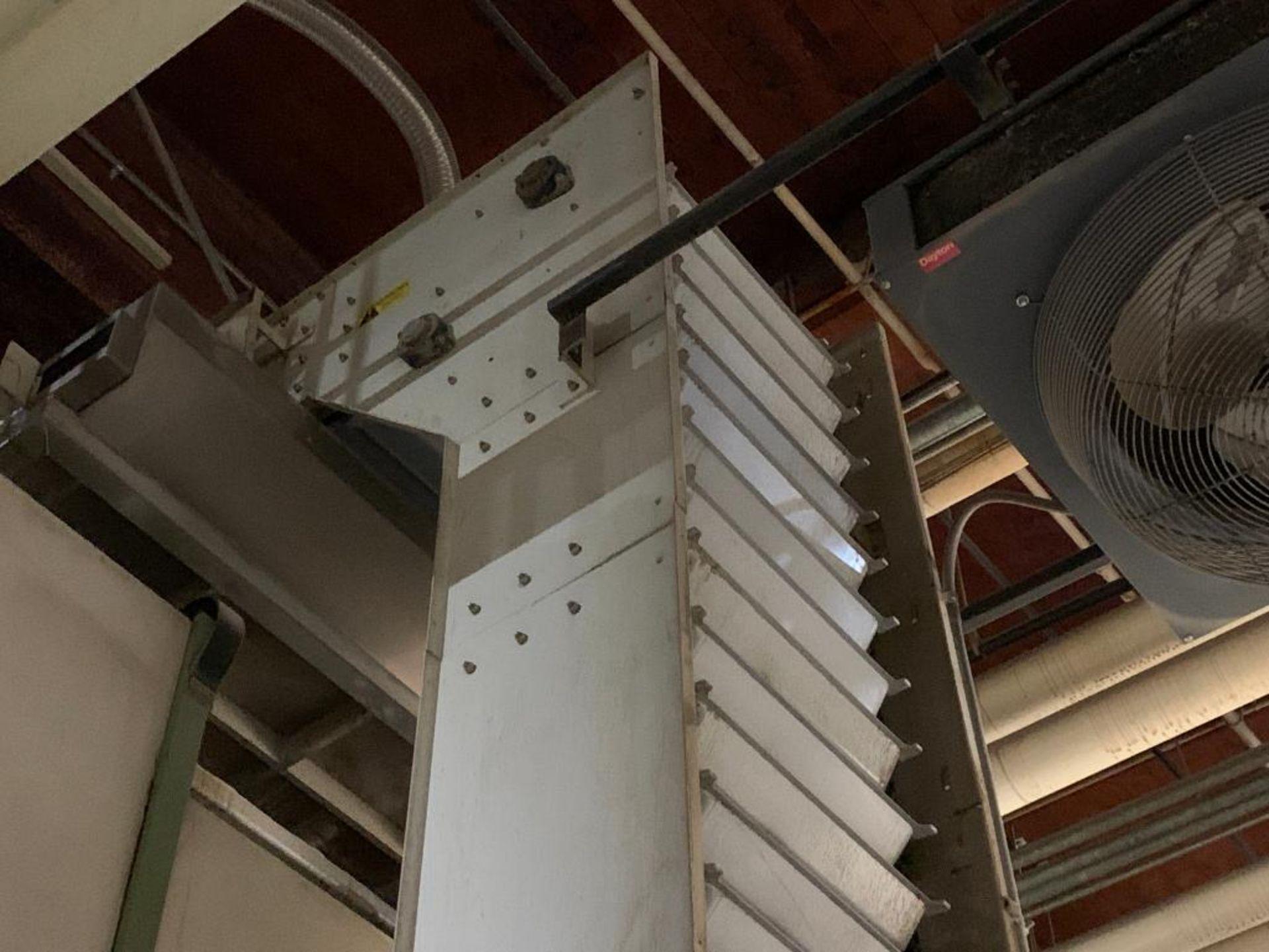 Meyer overlapping bucket elevator, model PA462-24-S - Image 4 of 13