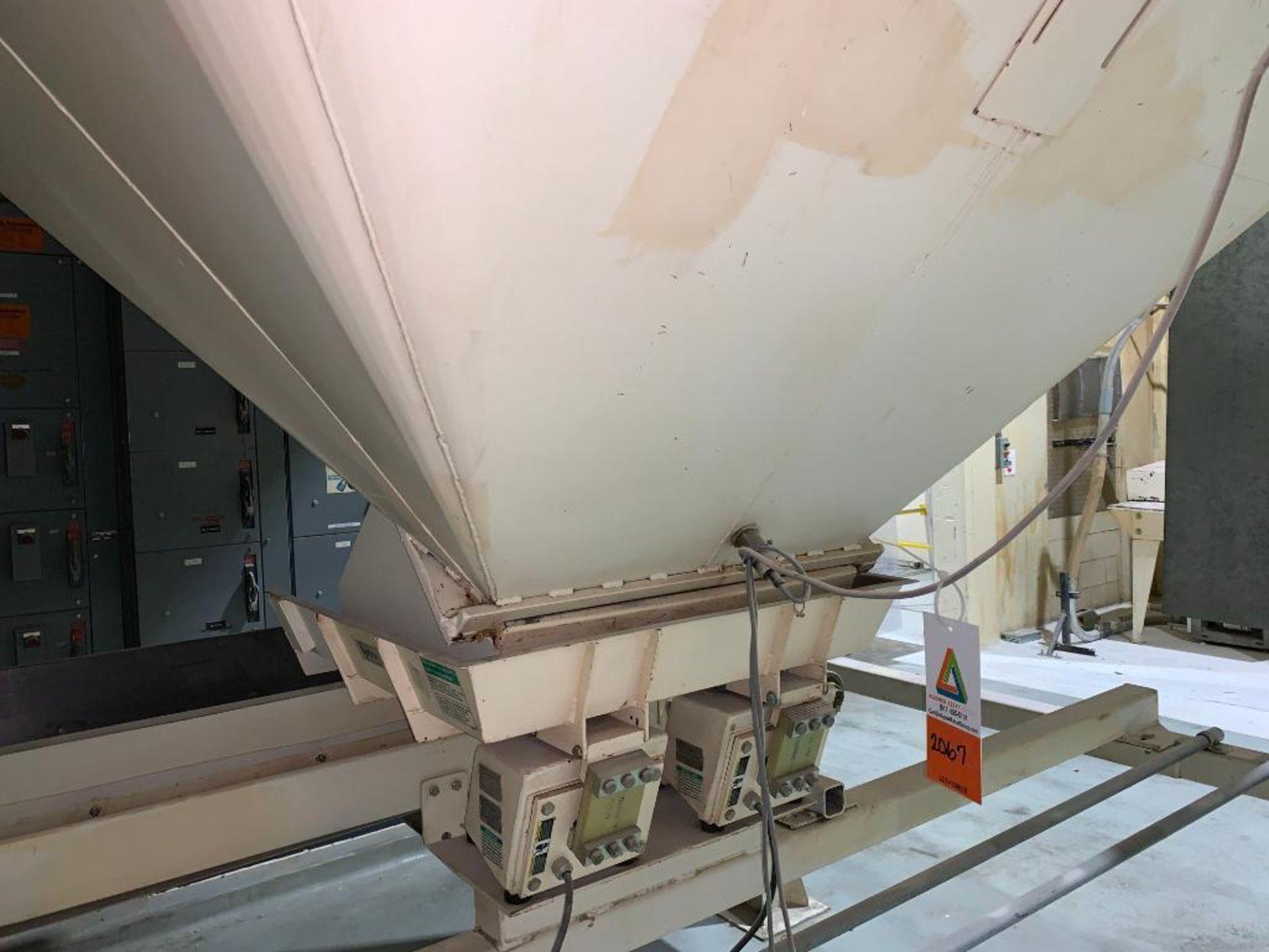 Aseeco mild steel cone bottom bulk storage bin - Image 9 of 16